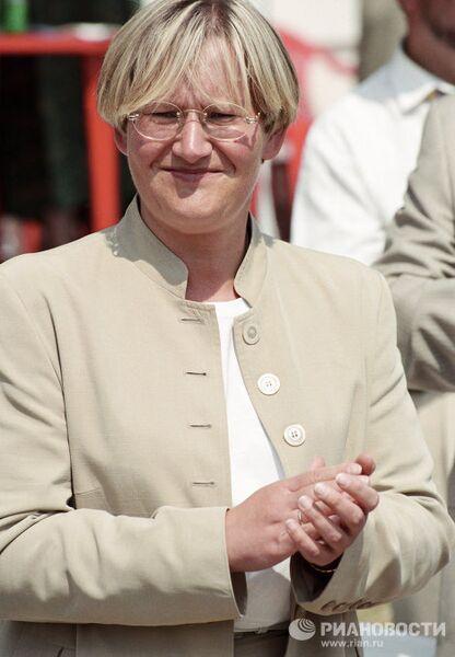 Президент Федерации конного спорта России Елена Батурина