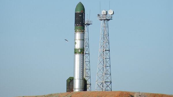 Запуск ракеты-носителя РС-20 Днепр. Архивное фото