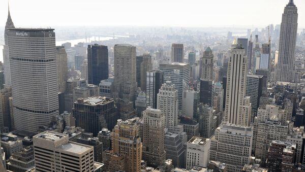 Вид Нью-Йорка. Архив