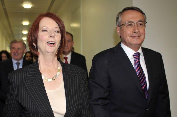 Джулия Гиллард, избранная новым премьер-министром Австралии