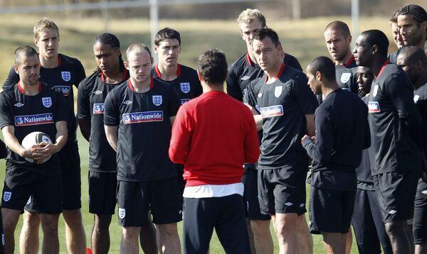 Тренер сборний англии по футболу 2010