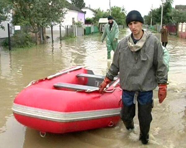Западная Украина уходит под воду из-за проливных дождей