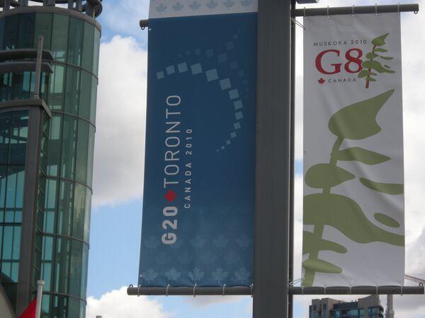 Саммиты G8 и G20 в Канаде