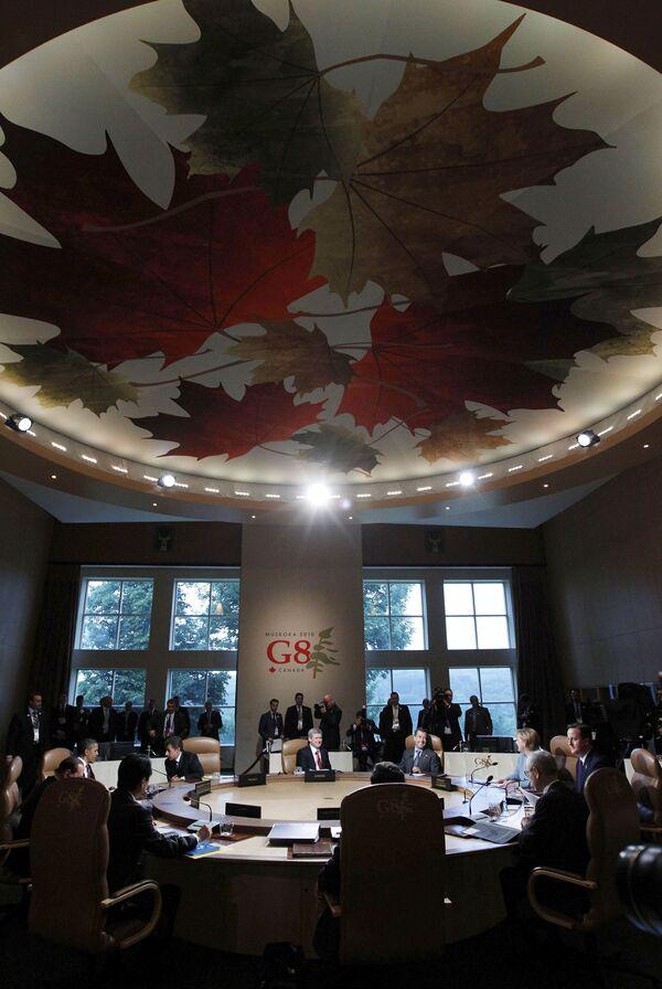 Саммит G8 в канадском Хантсвилле
