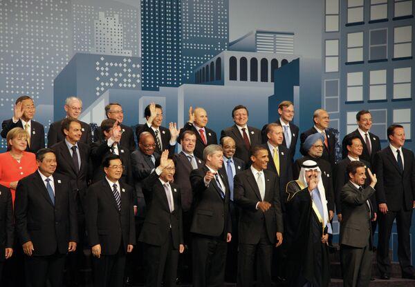 Главы государств и правительств Группы двадцати