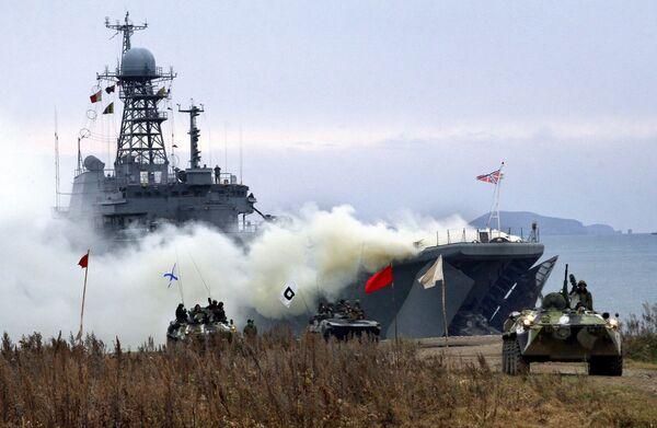 Стратегические командно-штабные учения Восток-2007