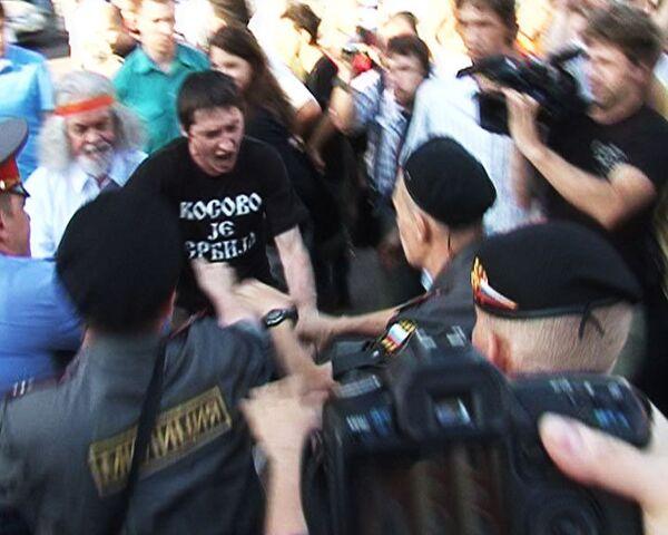 Несанкционированный день гнева закончился для организаторов в милиции