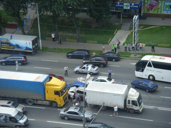 Задержание чиновников, подозреваемых в получении взятки в 10 млн рублей