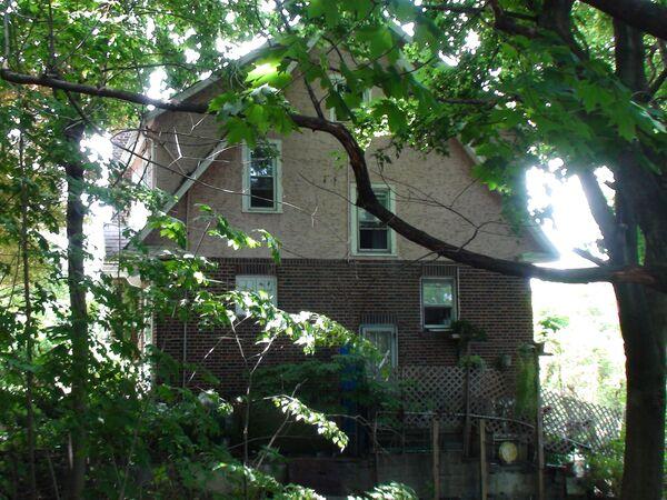 Дом, где жили арестованные по обвинению в шпионаже журналистка Вики Пелаез и профессор Хуана Лазардо