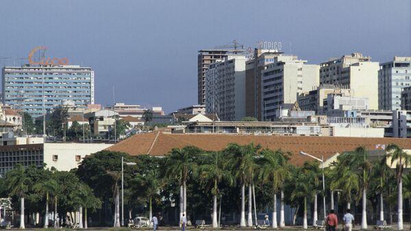 Вид на центральную часть Луанды