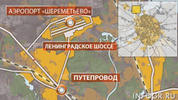 Ремонт путепровода на 24-м километре Ленинградского шоссе