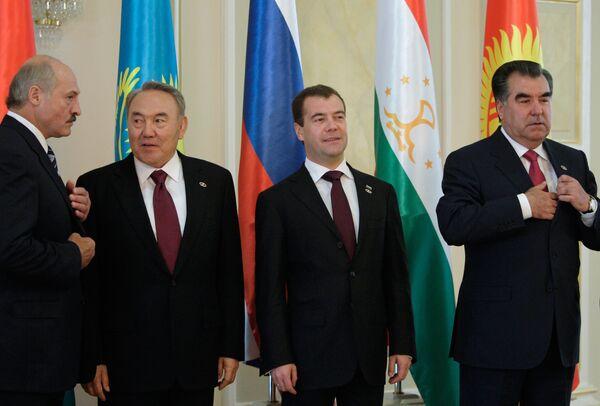 Саммит ЕврАзЭС в Астане