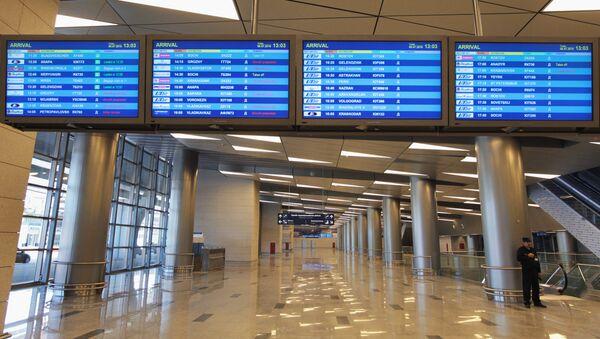 В здании нового терминала А аэропорта Внуково