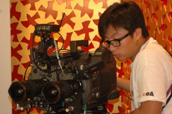 Съемки фильма в формате 3D начались в российском павильоне на ЭКСПО