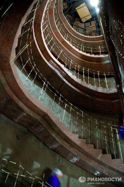Реставрационные работы в Государственном академическом Большом театре России