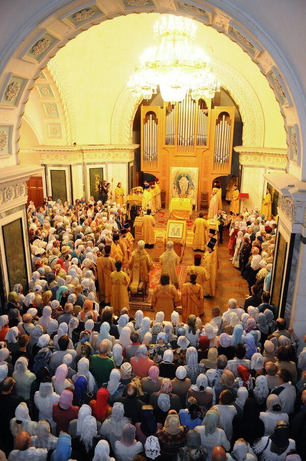 День Святых Петра и Февроньи в храме Александра Невского в Челябинске