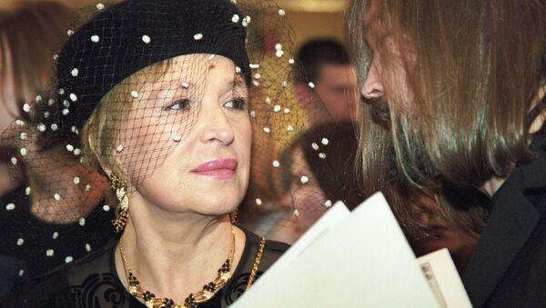 Актриса российского кино Клара Лучко. Архивное фото