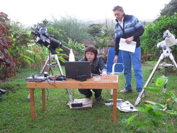 Астрономы на острове Пасхи готовятся к наблюдению затмения