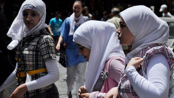 Мусульманские женщины, Архивное фото