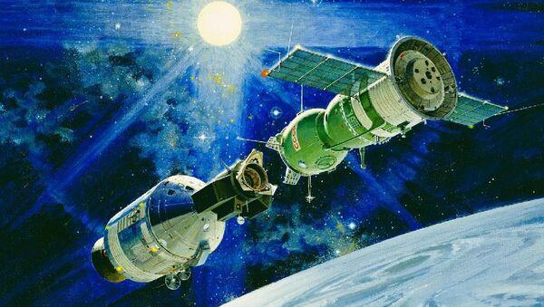 Союз-Аполлон: стыковка времен разрядки