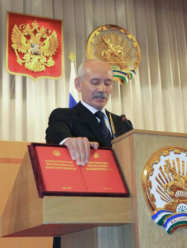 Рустэм Хамитов избран новым президентом Башкирии