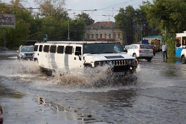 Последствия ливня на востоке Москвы
