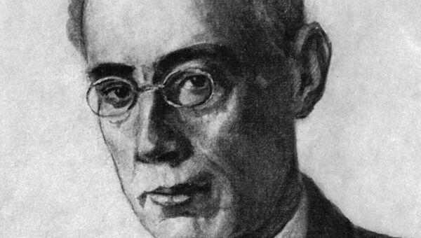 Писатель Александр Беляев, архивное фото