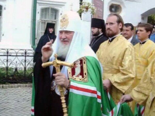 Патриарх Кирилл возглавил Крестный ход в Киеве в честь Крещения Руси