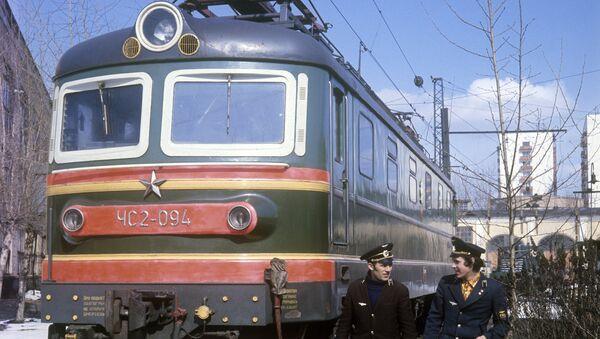 Электровозная бригада локомотивного депо Москва-Сортировочная