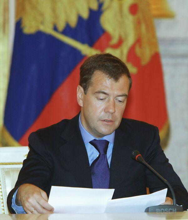 Заседание в Кремле Совета по реализации приоритетных нацпроектов и демографической политике