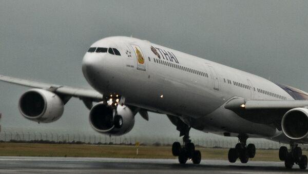 Самолет авиакомпании Thai Airways International, архивное фото