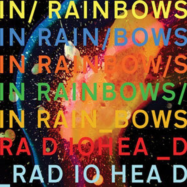 Обложка альбома «In Rainbows» группы Radiohead