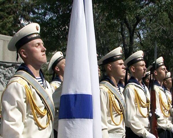 Черноморцы почтили память погибших на подводной лодке Курск