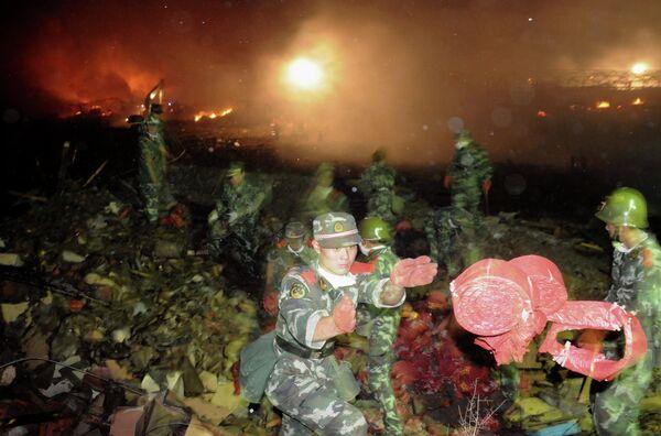 Взрыв на пиротехническом предприятии на северо-востоке Китая, унесншем из жизни 19 человек