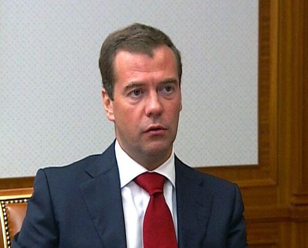Медведев поручит силовикам полностью разминировать Чечню
