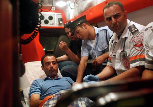 Палестинец Надим Инжаз, проникший в посольство Турции в Израиле