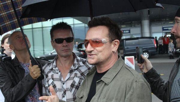 Лидер легендарной ирландской группы U2 Боно. Архивное фото