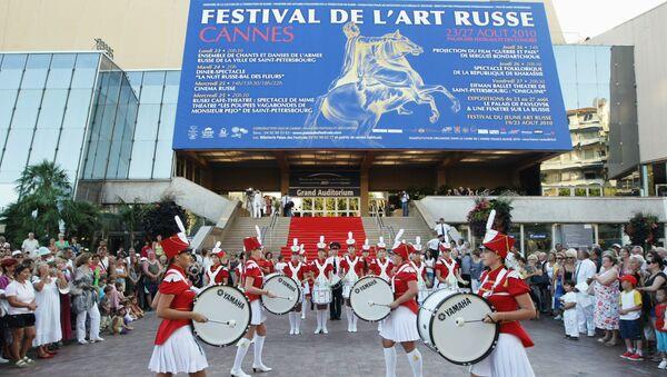 Открытие Фестиваля российского искусства в Каннах, архивное фото