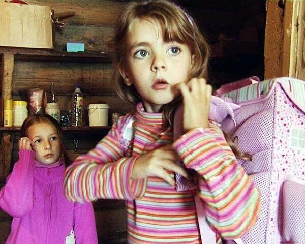 Португальская Сандра учит русский и готовится идти в школу
