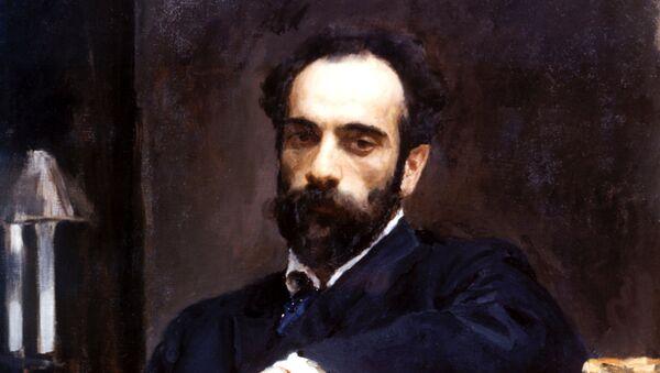 Портрет  Исаака Левитана