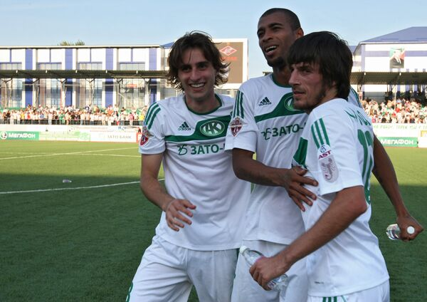 Футболисты Терека