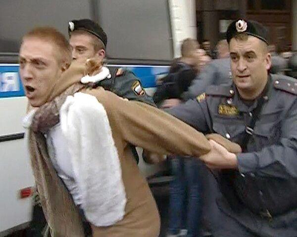 Милиция не дала провести несанкционированный Марш несогласных