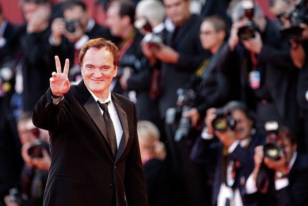 Председатель жюри 67-го Венецианского кинофестиваля, режиссер Квентин Тарантино