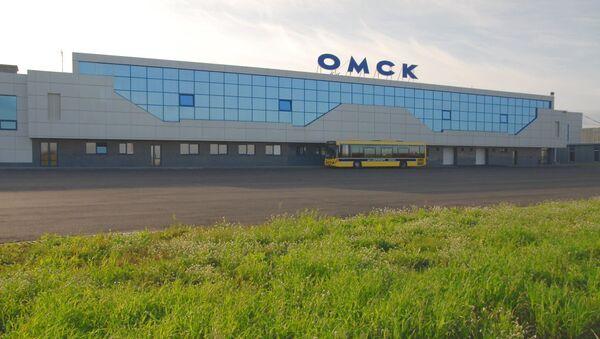 Аэропорт  Омска. Архив