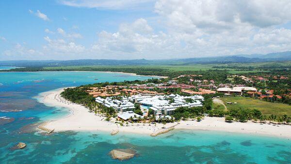 Один из отелей Доминиканы