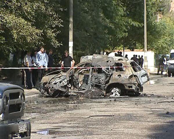 Покушение на дагестанского министра в Махачкале 4 сентября 2010 года