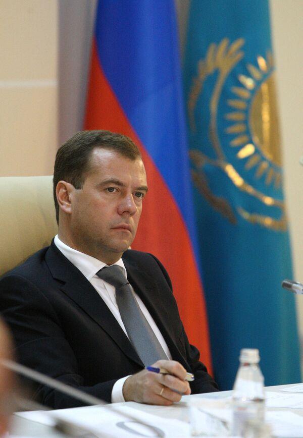 Дмитрий Медведев принял участие в работе VII Форума межрегионального сотрудничества России и Казахстана