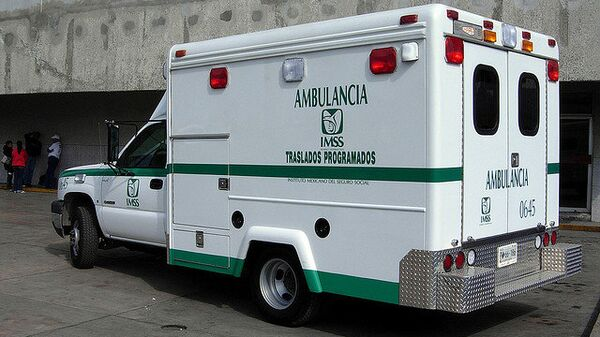 Машина скорой помощи. Мексика. Архивное фото