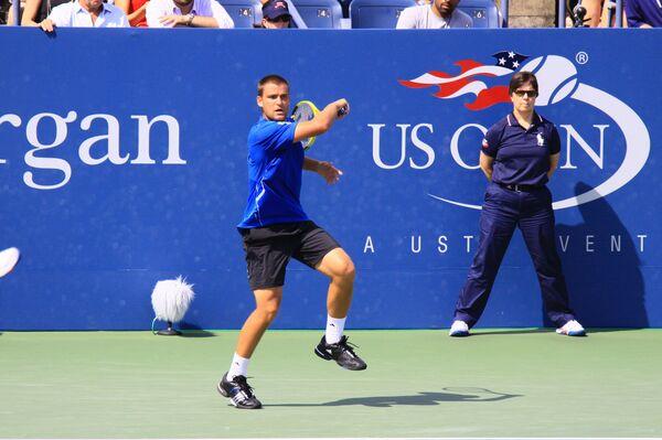 Российский теннисист Михаил Южный. Турнир US Open