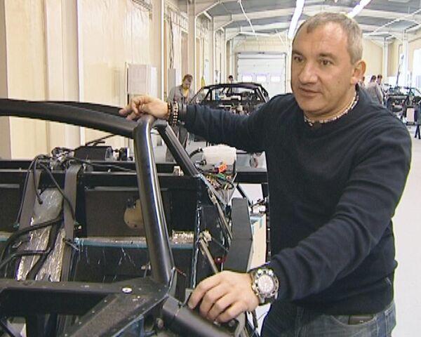 Николай Фоменко показал, как собирают российский спорткар Marussia